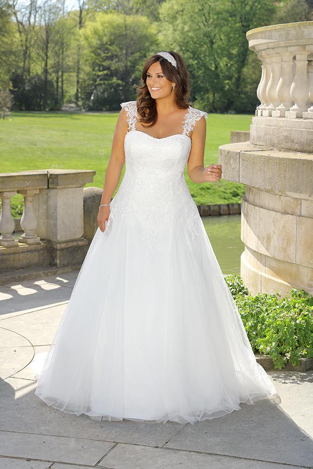 Brautkleid-LS 319100-2